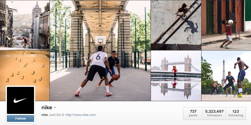 Nike's instagram | Sheknows.ca