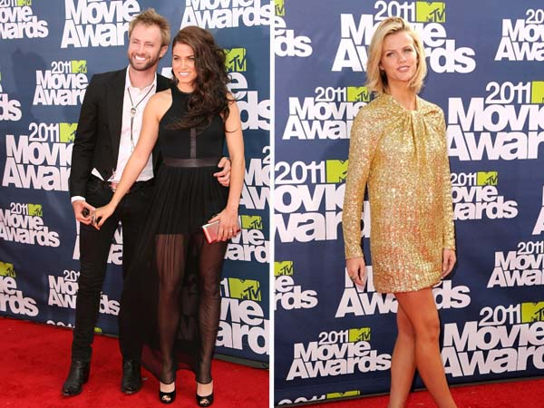 Nikki Reed and Brooklyn Decker Worst Dressed at the 2011 MTV Movie Awards