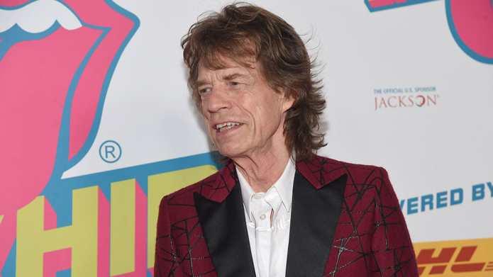 Mick Jagger's new baby makes his