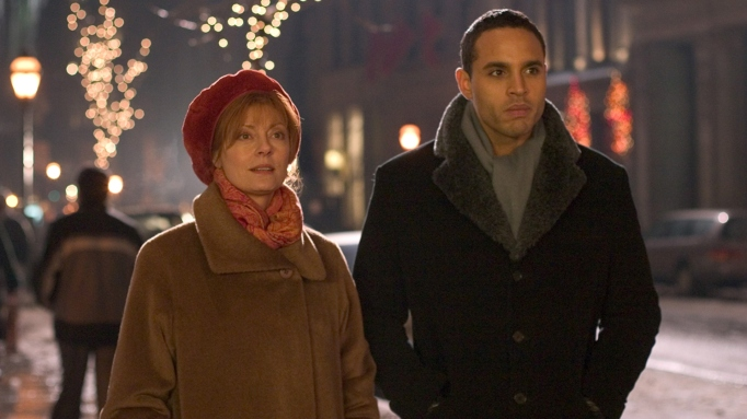 Susan Sarandon and Daniel Sunjata in the film 'Noel.'