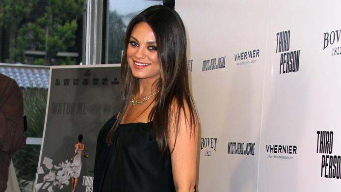 Celeb bump day: Mila Kunis, Kourtney