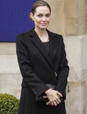 Why Angelina Jolie chose a double