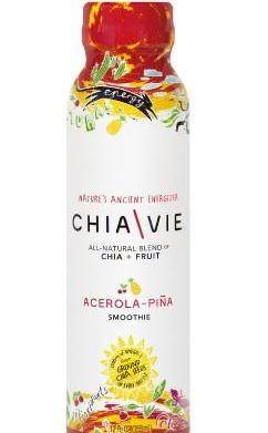 New vegan drink: Chia\Vie Smoothies