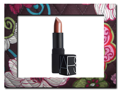 Cream lipstick in a neutral shade