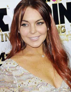 Lindsay Lohan had sticky fingers on