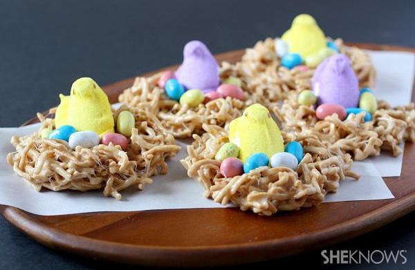 Peeps' nest candy