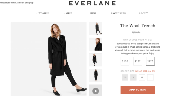 Everlane sale lets you pick your