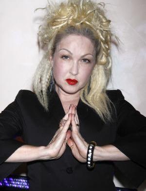 Cyndi Lauper reveals secret death wish