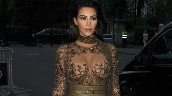 Kim Kardashian's latest accessory is a