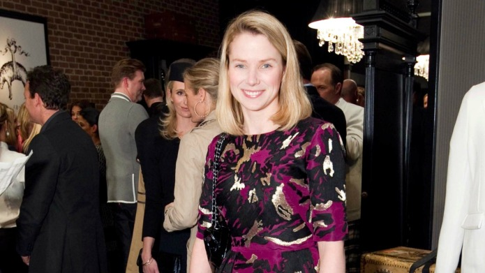 Yahoo's Marissa Mayer reveals her twins'