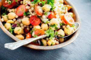 Israeli couscous salad