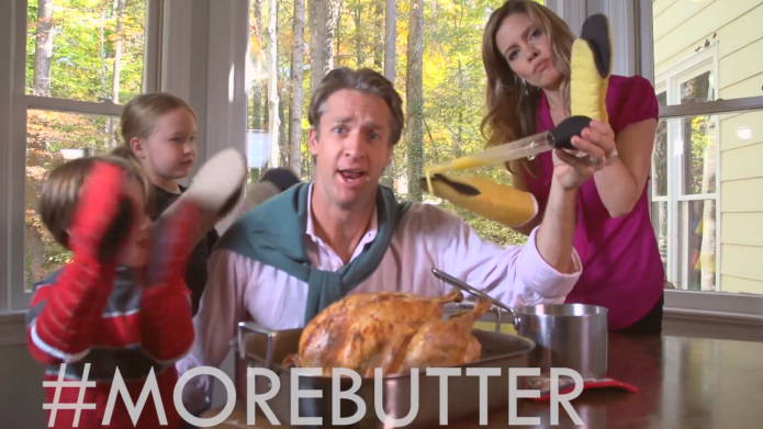The Holderness Thanksgiving parody reminds us