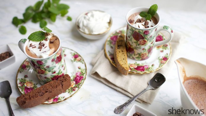 French-style hot chocolate doubles as a
