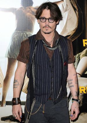 Johnny Depp hated life until he