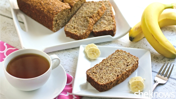 Oatmeal-banana bread is the perfect use