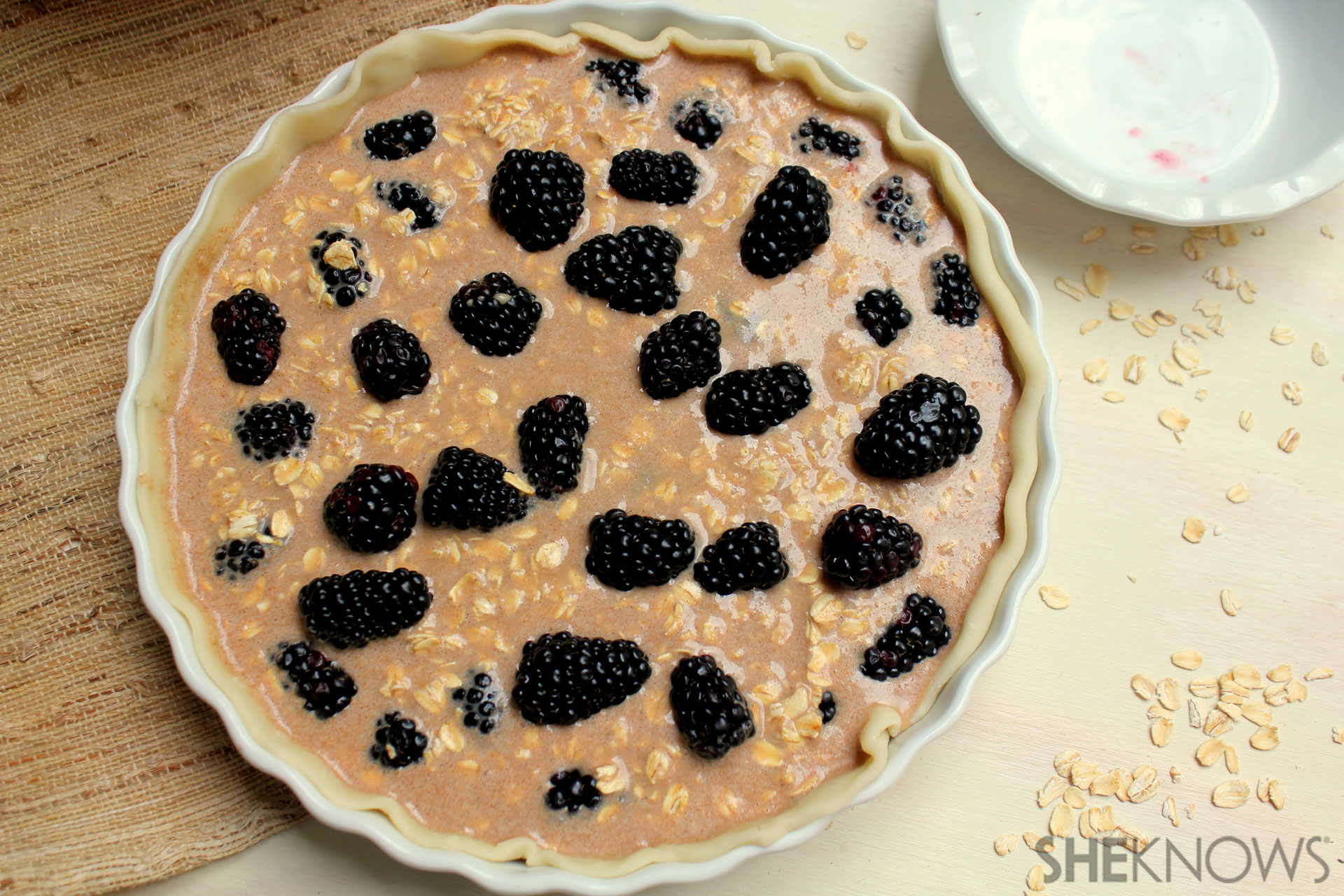 Oatmeal and Blackberry Pie 3
