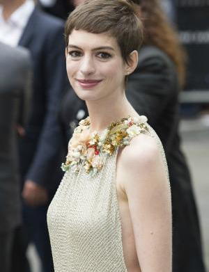 """Anne Hathaway """"at a loss"""" over"""