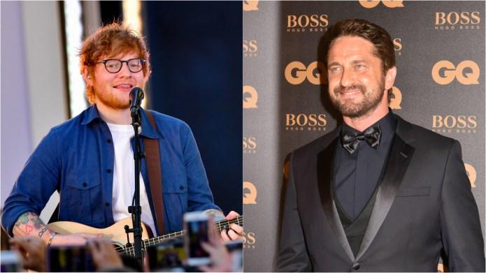 Ed Sheeran & Gerard Butler Both