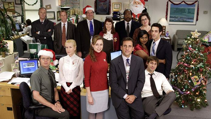 Cast of 'The Office' Christmas card