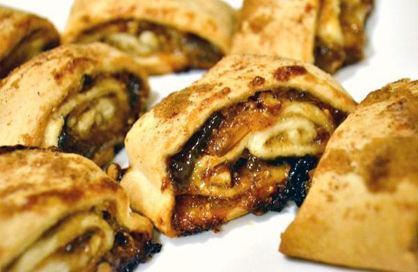 Pecan pinwheel cookies