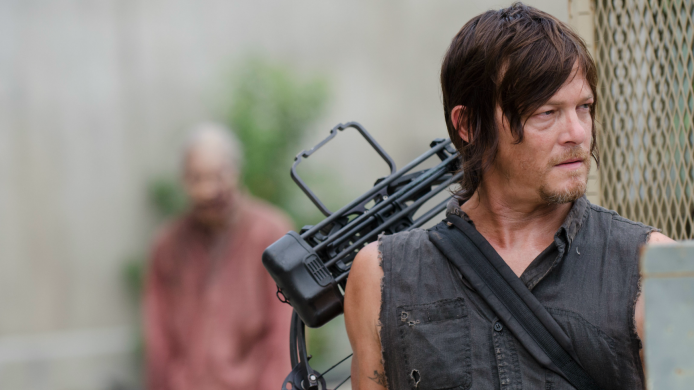 TWD's Norman Reedus is a zombie