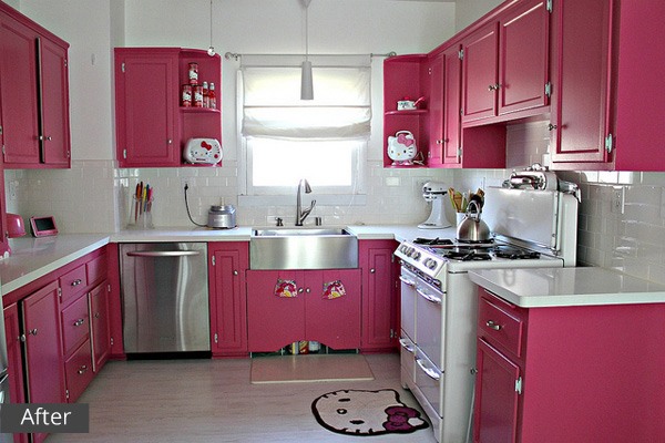 Our City Lights kitchen after