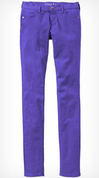 rock star colored super skinny jeans