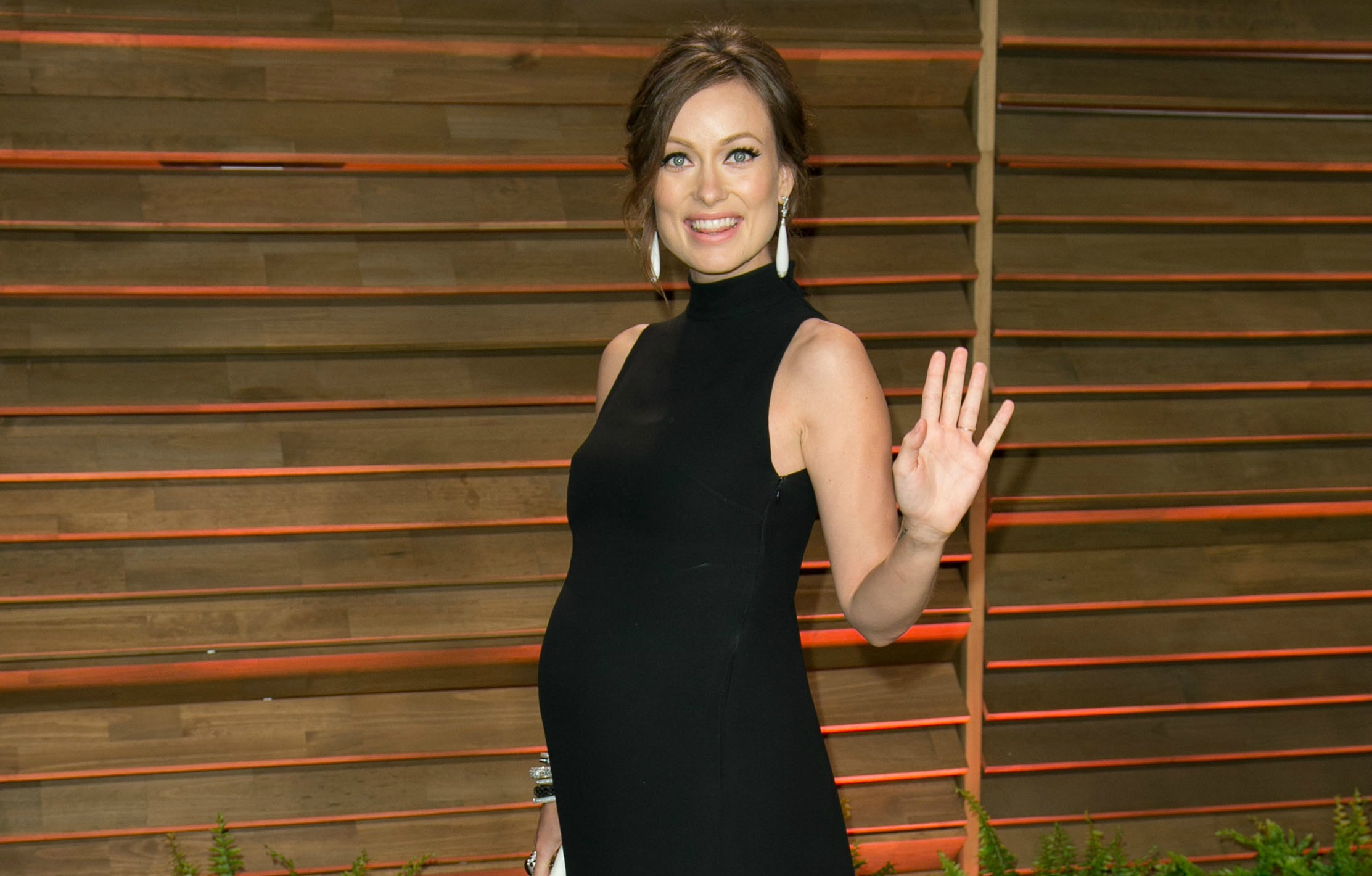 Olivia Wilde gushes about the perks of pregnancy to Lucky magazine