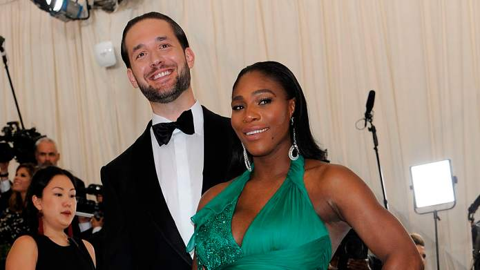 Serena Williams & Alexis Ohanian's Private