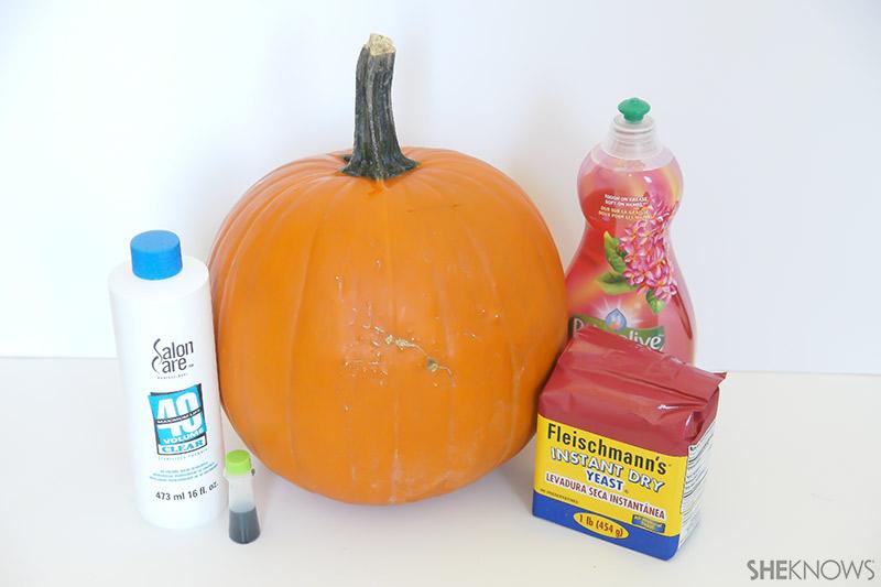 Oozing Pumpkin | Sheknows.com - supplies