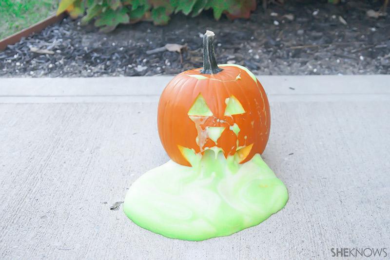 Green ooze Pumpkin | Sheknows.com