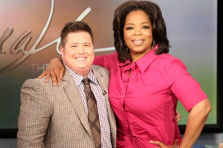 Chaz Bono talks to Oprah about becoming a man and how his mom Cher. handled it