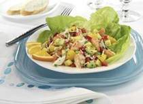Orange Crab Salad