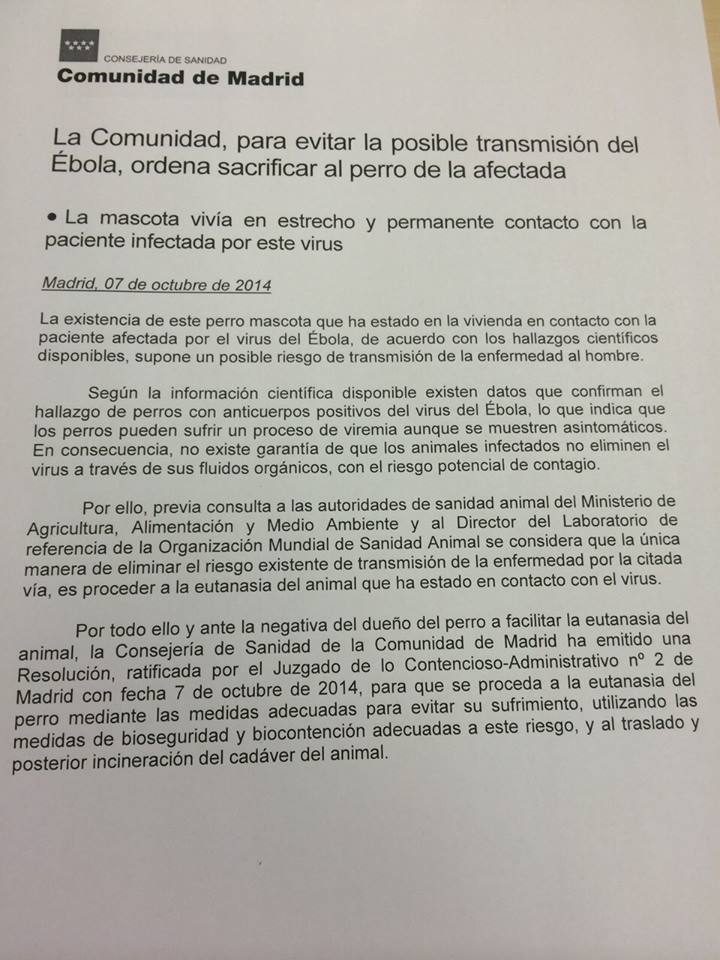 court order for excalibur euthanization