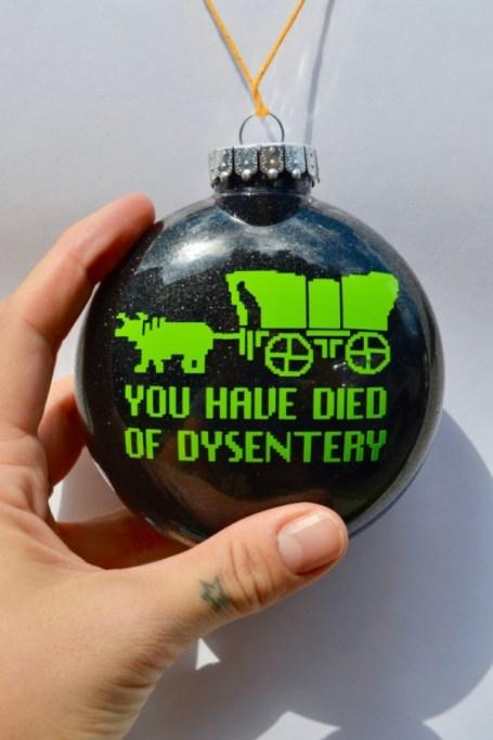 Oregon Trail ornament.