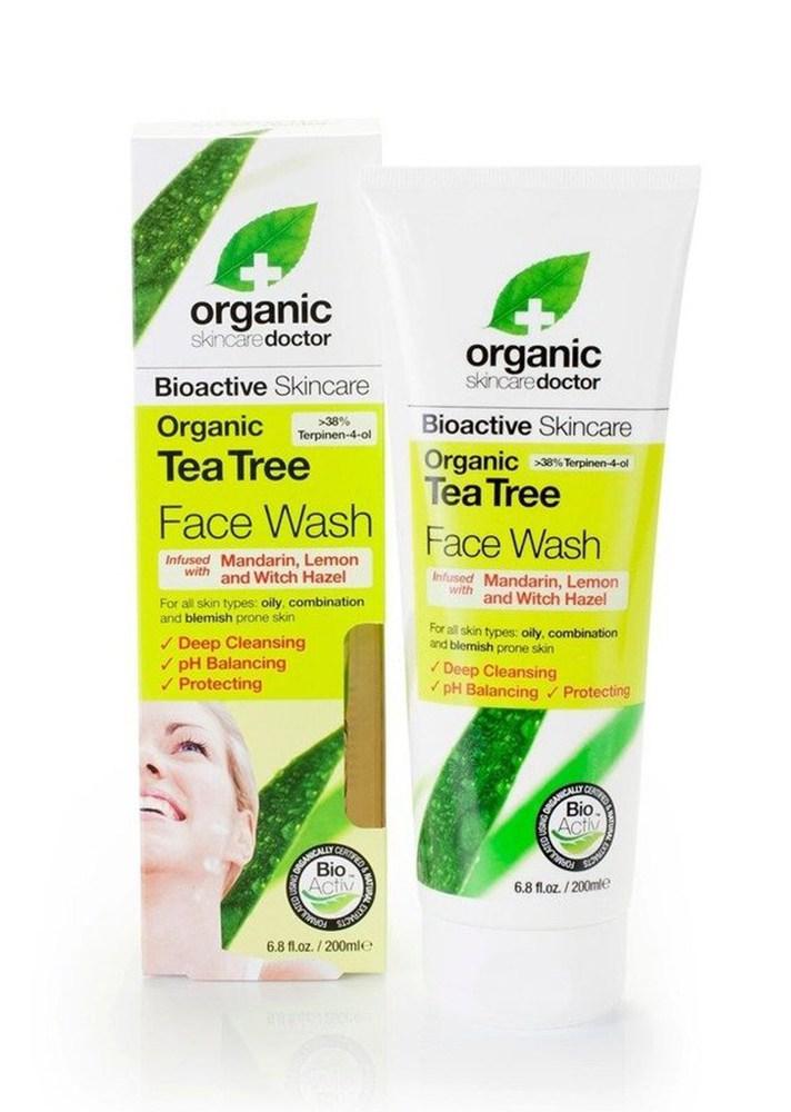 Organic Doctor Tea Tree Face Wash