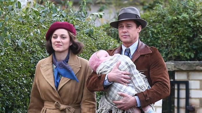 Brad Pitt and Marion Cotillard film
