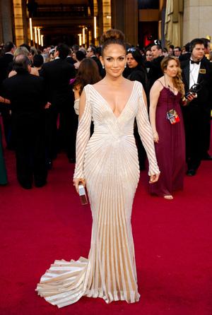 Jennifer Lopez at 2012 Oscars