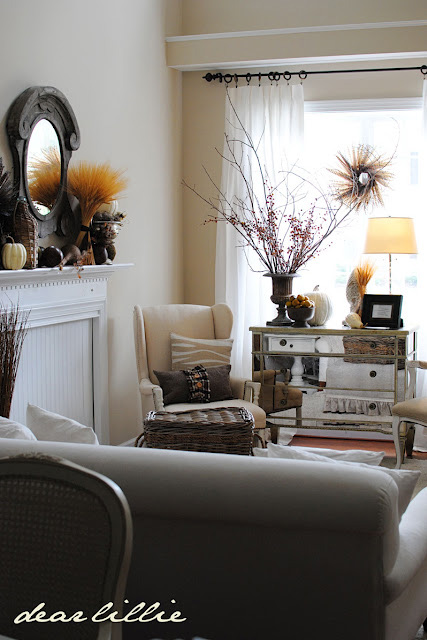 Nature gets sophisticated -- Living Room