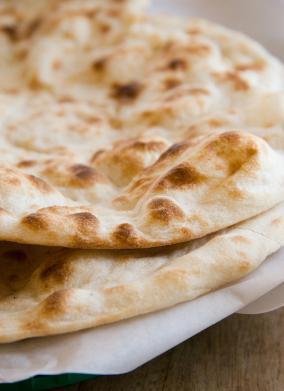 Garlic Naan (flatbread)