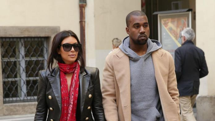 North West travels with nannies, not