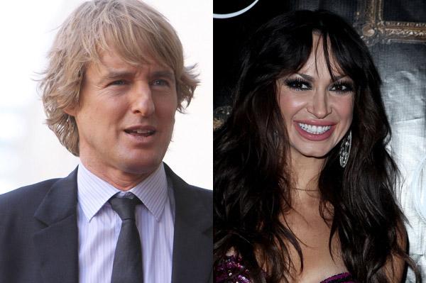 Owen Wilson and Karina Smirnoff dating?