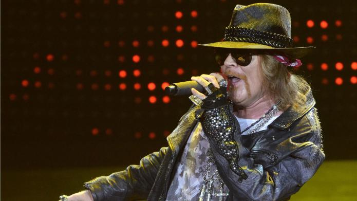 Axl Rose names a bunch of