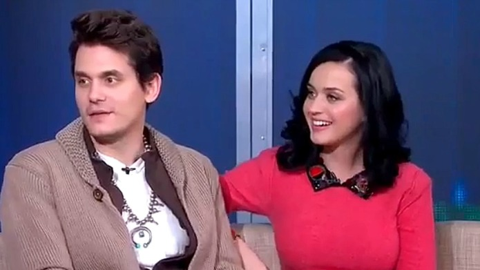 Old flames Katy Perry and John