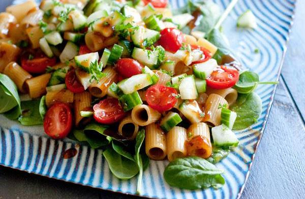 Perfect pasta salad for winter