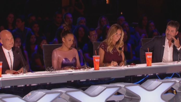 The America's Got Talent judges wasted