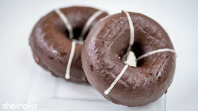 GF Friday: Chocolate-glazed doughnuts that are