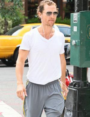 Matthew McConaughey is scary skinny, still