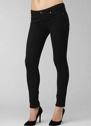 Kate Middleton black skinny jeans - Paige