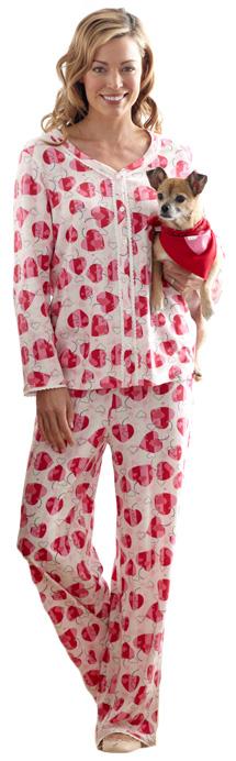 Pajamas and paws